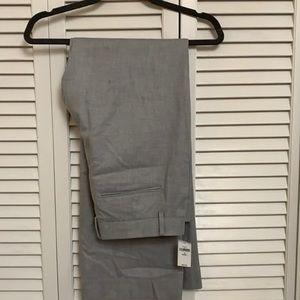 Light gray brand new gap dress pants